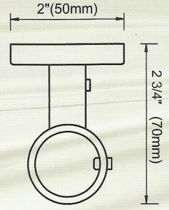 Ceiling Bracket Diagram