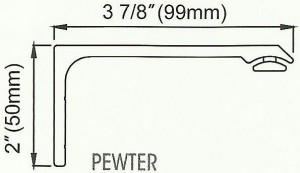 Channel Track Bracket Diagram