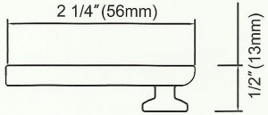 Channel Track Ceiling Bracket Diagram