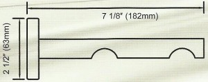Channel Track Double Bracket Diagram