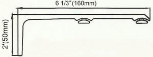 Channel Track Double Bracket Diagram.2