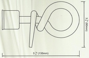 Knot Finials Diagram
