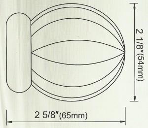 Sphere Finial Diagram