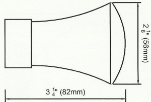 Trumpet Finial Diagram