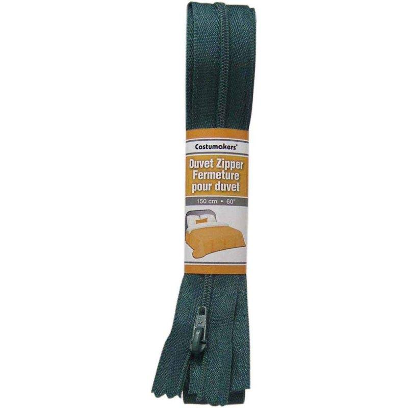 Duvet Zipper 1702 - 0299530 Dark Green