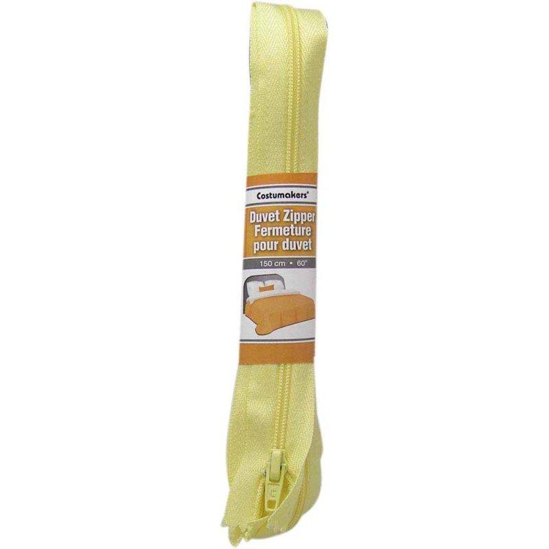 Duvet Zipper 1702 - 0299802 Yellow