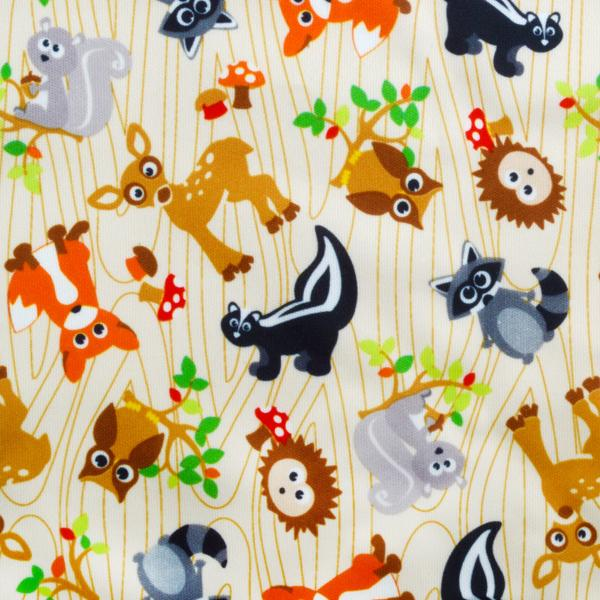 Forest Friends PUL Fabric