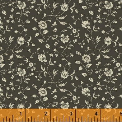 Small Floral 41292 - Grey