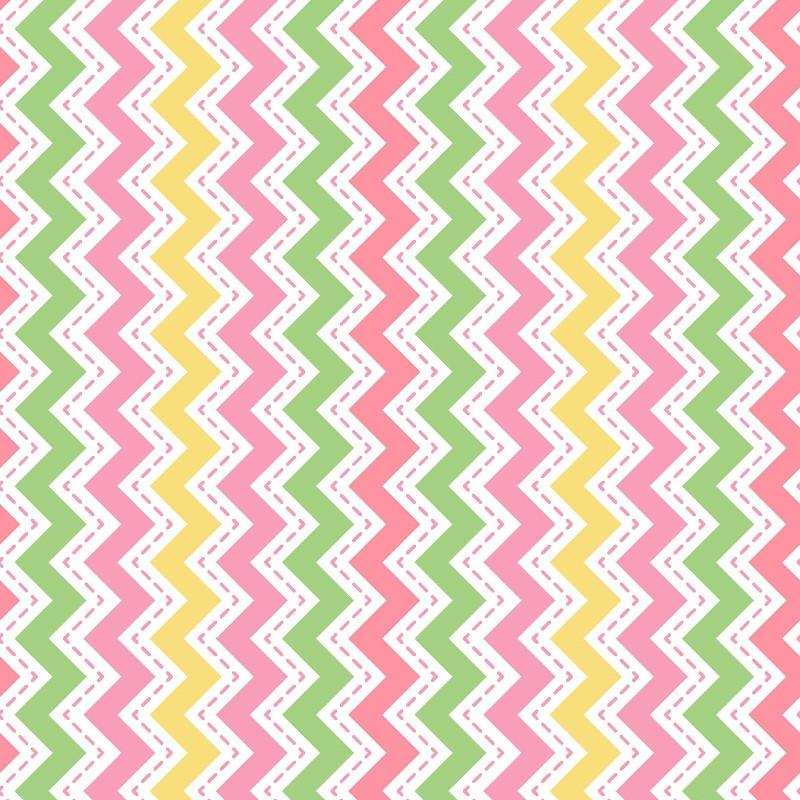 Zig Zag Flannel F8223 - Pink